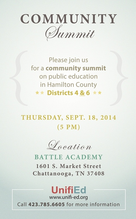 UnifiEd Community Summit Poster