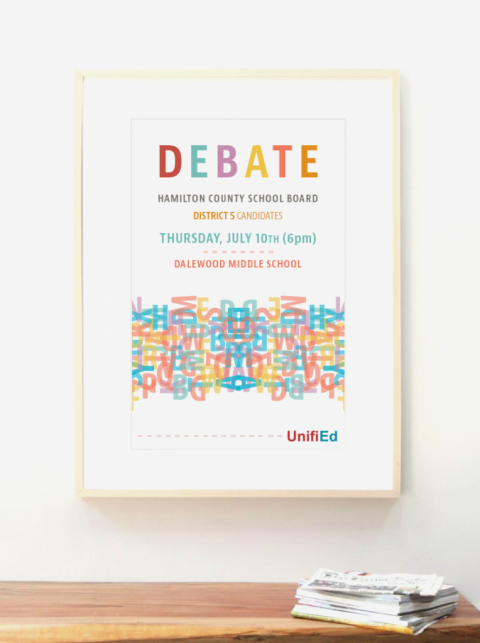 UnifiEd Debate Poster