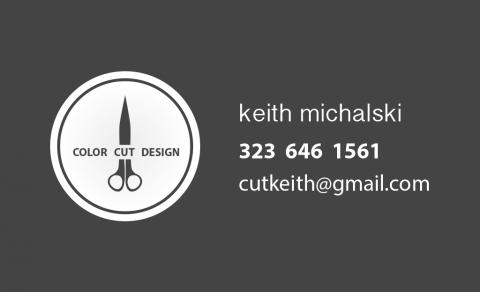 Keith Michalski Logo & Business Card