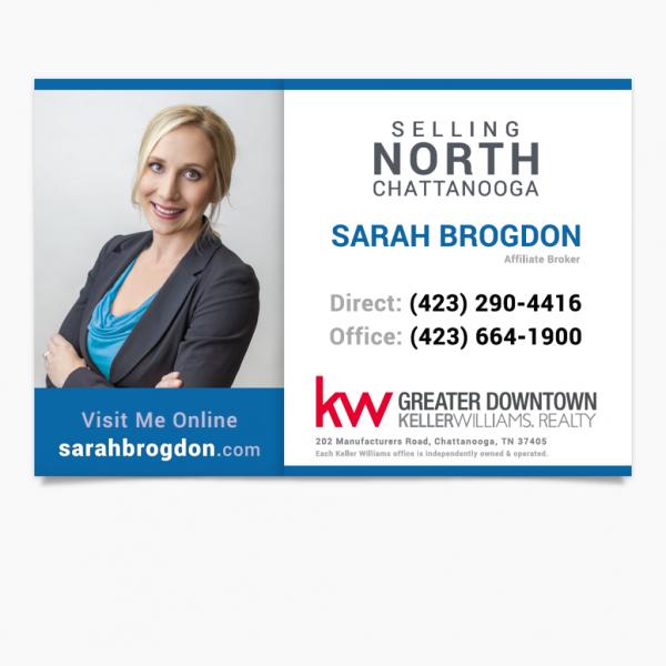 Print Marketing Material for Sarah Brogdon