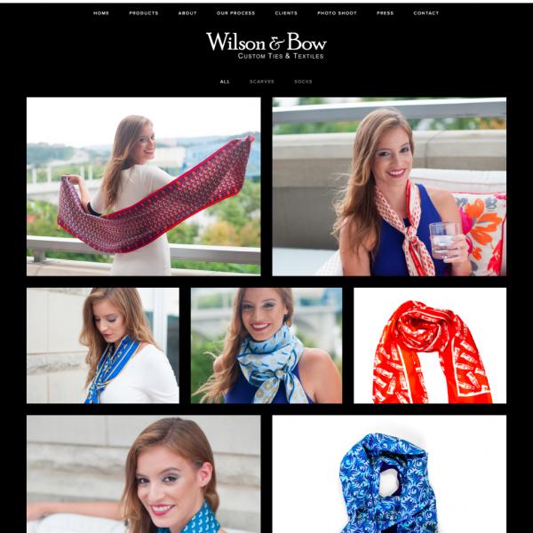 Wilson & Bow's Website