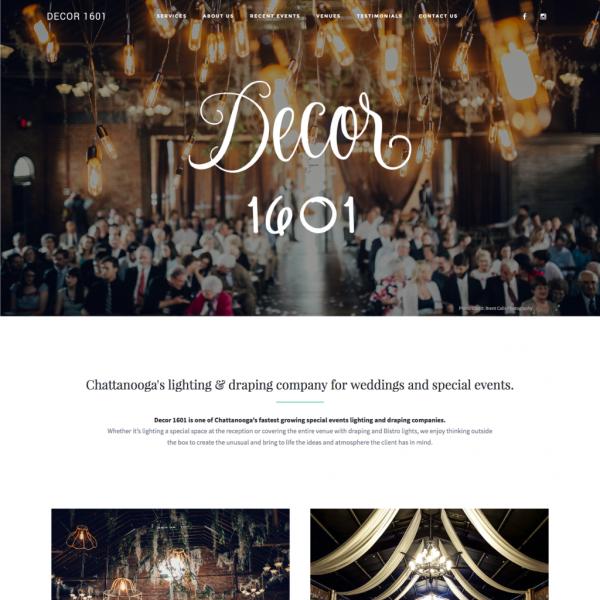 Decor 1601 Website