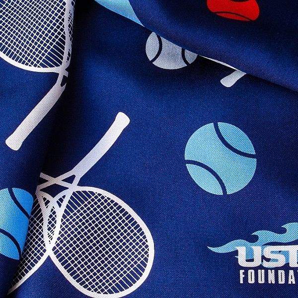 USTA Foundation Scarf Design