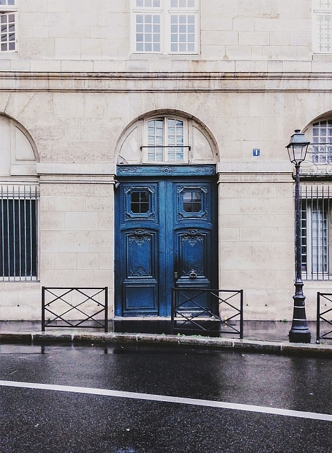 Parisian Doorway