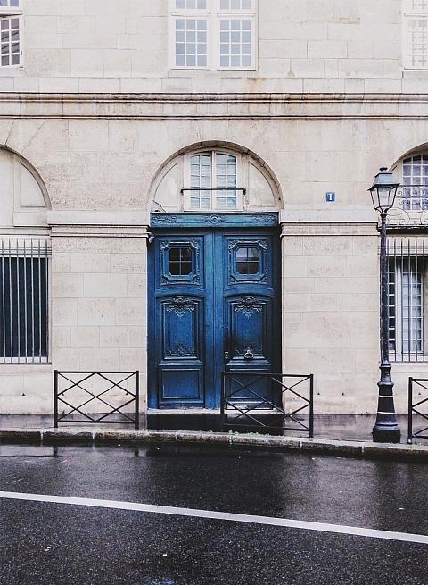 Parisian Doorway