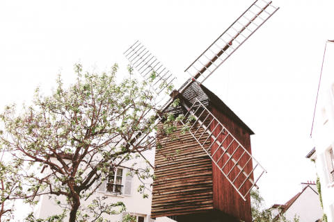 Windmill in Paris