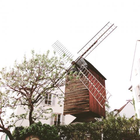 Windmill in Paris