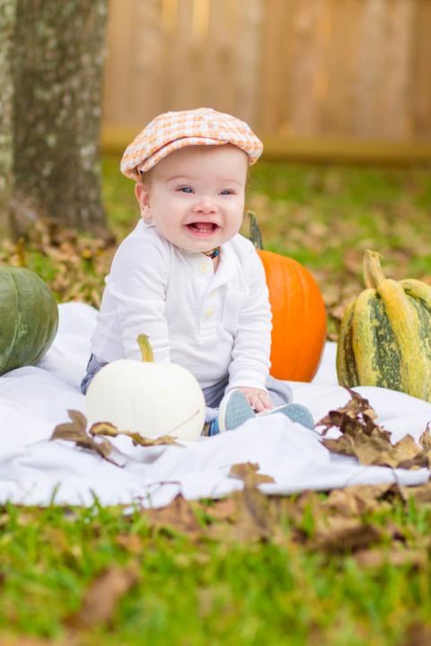Crusey Baby Portrait