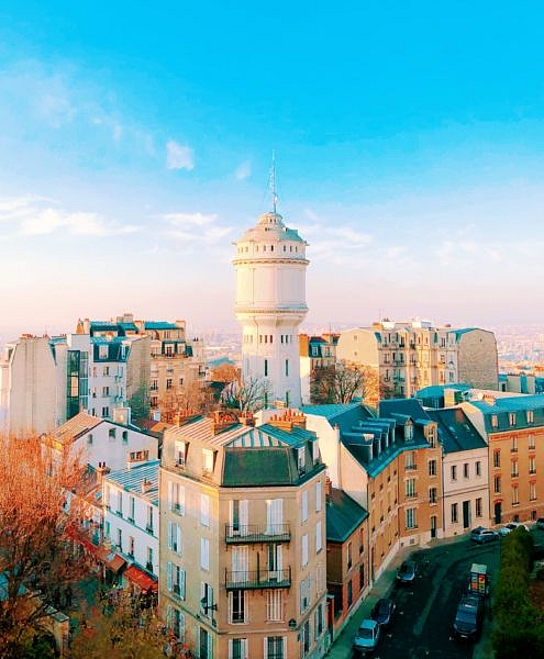 Parisian View from Sacre-Coeur